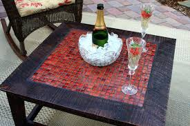 mosaic tile coffee table like this item mosaic tile coffee table