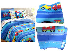 Truck Bedding Sets Trains Air Planes Fire Trucks Construction Boys ...