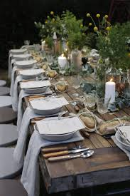 Ideas Excellent Outdoor Dinner Christmas Eve Inspiring Design Contains Adorable Rustic Brown Coffee Table With