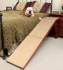Pet Stairs For Tall Beds by Solvit Wood Bedside Ramp For Dogs U0026 Cats Pet Food Dog Ramp And Dog