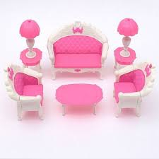 Barbie Living Room Playset by Online Shop 2017 New Arrival 6pcs Cute Dollhouse For Barbie Doll