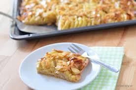 vollkorn apfelkuchen florentinerart