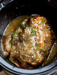 Slow Cooker Cuban Mojo Pork Made With Citrus Garlic Oregano And Cumin Takes Almost No Prep Time Makes A Fantastic Flavorful Meal Your Family Will