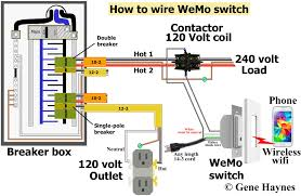 How To Wire WeMo Switch Same As Above Except Using Extension Cord Instead Of Hardwire 120 Volt Outlet Has Hot And Neutral Wires Illustrated