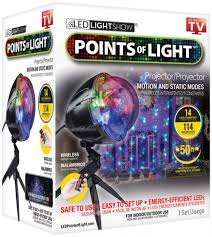 Holiday Décor Must Have Points Light LED LightShow TechNews