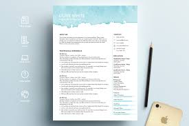 Resume Template Word Blue Watercolor The Best Free Creative Resume Templates Of 2019 Skillcrush Clean And Minimal Design Graphic Modern Cv Template Cover Letter In Ai Format Cvresume Design In Adobe Illustrator Cc Kelvin Peter Typography Package For Microsoft Word Wesley 75 Resumecv 13 Ptoshop Indesign Professional 2 Page File 7 Editable Minimalist Free Download Speed Art