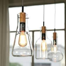 edison bulb pendant lights 5 bare bulb pendant light chandelier
