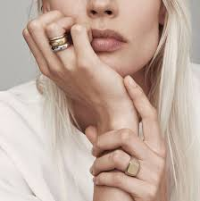 16 Gold Wedding Rings For The Alternative Bride