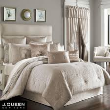 Lush Decor Belle 4 Piece Comforter Set by Wilmington Beige Comforter Bedding By J Queen New York Comforter