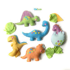 Felt Dinosaur Baby Mobile Made By Lilo Limón Mobile For Crib