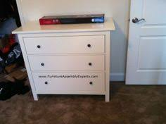 ikea malm twin bed and hemnes chest of drawers assembled in new