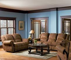 blue and brown color scheme for living room coma frique studio
