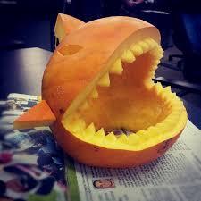 Easy Shark Pumpkin Carving by Shark Pumpkins 19 Images Church Of Halloween