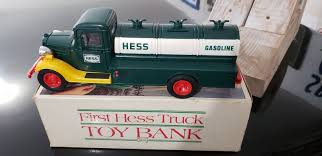 HESS FIRST HESS Truck Toy Bank - $9.95   PicClick 1988 Hess Toy Truck And Racer Ebay 2013 26amp Tractor 1994 Gasoline Rescue Lot Of 8 Mini 2000 2001 2002 2003 2004 20062 2007 9 Vintage Hess Trucks New Old Stock 1990s 2000s Lot D 5 1991 Formula One Style Race Car 1995 Helicopter 885111002804 2008 Truck Front Loader 610 Pclick Miniature Mint