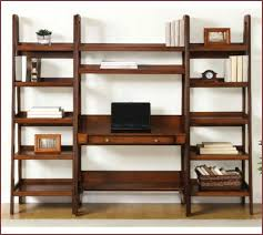 Crate And Barrel Leaning Desk by Bookcase Espresso Leaning Shelf Espresso Leaning Bookcase Crate