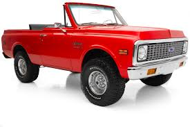 1971 Chevrolet K5 Blazer 4WD Awesome Truck -