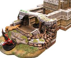 3d Dungeon Tiles Dwarven Forge by Dwarven Forge Produces Another Great 3d Dungeon Set