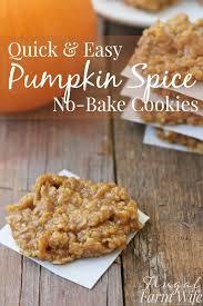 Easy Pumpkin Desserts Pinterest by Best 25 Pumpkin No Bake Cookies Ideas On Pinterest No Bake