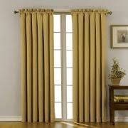 Walmart Grommet Blackout Curtains by Gold Energy Efficient U0026 Blackout Curtains Walmart Com