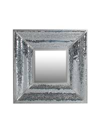 12x12 Mirror Tiles Beveled by Darice Square Bevel Mirror Walmart Com