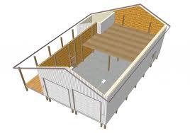 pole barn1 1024x718 Pole Barn RV Garage Plans