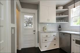 modern makeover and decorations ideas ana white wall kitchen