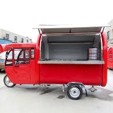 100 Food Truck Manufacturers Electric Three Snack Car Caravan Mobile Food Truck Dining Car
