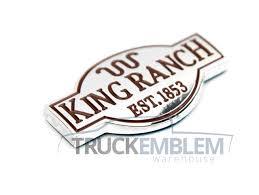 100 Ford Truck Logo 1 New Custom Ford King Ranch Truck Interior Chrome Dash Emblem