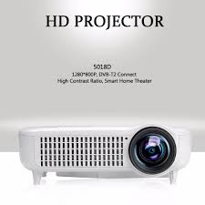 original exquizon 5018d lcd led projector 3000 lumens 1920 1080