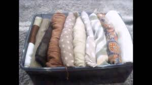 comment ranger foulards écharpes how to organize scarves