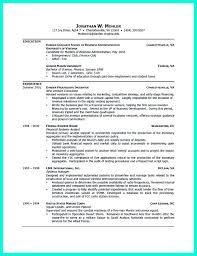 Resume Format For College Internship Student University