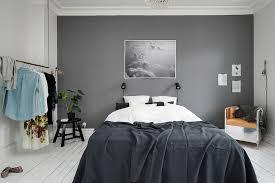 Grey Wall Bedroom Ideas Photo