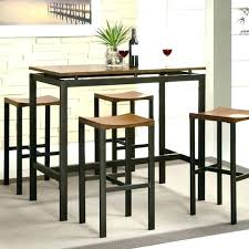 Tall Table Set High Dining Dinning Room Tables Lovable Breakfast