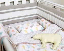 Organic crib bedding