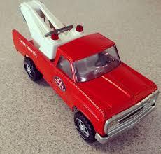 Tonka Red Wrecker! Sweet Old Truck In Great Shape. @crossroads ...