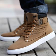 Latest Casual Winter Long Shoes For Men 2017