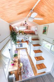 100 Small Home On Wheels Womans Dream Tiny House Even Has A WalkIn Wardrobe