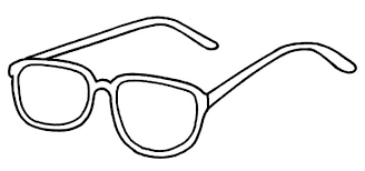 Improve Your Vision With Eyeglasses Colouring Page