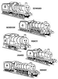 Thomas The Tank Engine Coloring Pages 9
