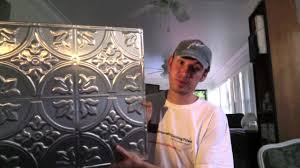 Fasade Drop Ceiling Tiles by How Do I Know If I Need Nail Up Or Glue Up Ceiling Tiles Youtube