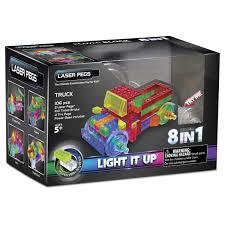 100 Powerblock Trucks Truck Power Block Laser Peg Light Up Construction Toy Block