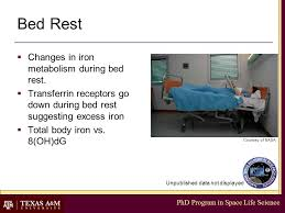Nasa Bed Rest Study Requirements by Phd Program In Space Life Science Functions Of Nutrition In Space