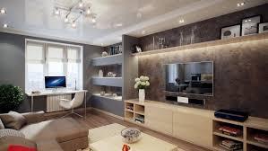 moderne wohnwand mit led beleuchtung 55 ideen