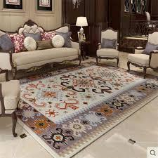 Luxury Mediterranean Style Soft Large Carpets For Living Room Bedroom Rugs Home Carpet Floor Door Mat