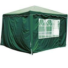 tonnelle parapluie pas cher rideaux avec fenêtre pour tonnelle de jardin 3 x 3 m verte lot