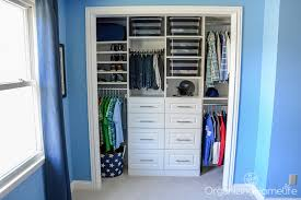 How Crisp And Organized Does This Beautiful Closetmaid Closet Via Just A Girl Look Super Functional