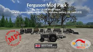 ls uk ferguson pack 2011 mod fs mods at farming simulator uk