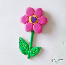 une fleur en fimo momes net