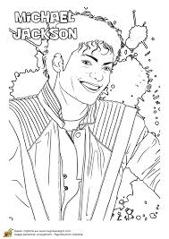 Good Michael Jackson Coloring Pages 33 For Your Free Colouring With
