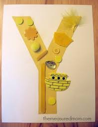 7 Letter Y Crafts and Process Art for Preschoolers The Measured Mom